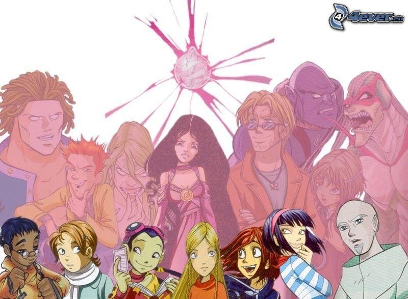 Witch, brujas, dibujos animados, historia