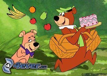 Yogi, osos de peluche de dibujos animados