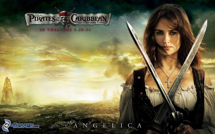 Angelica, Piratas del Caribe