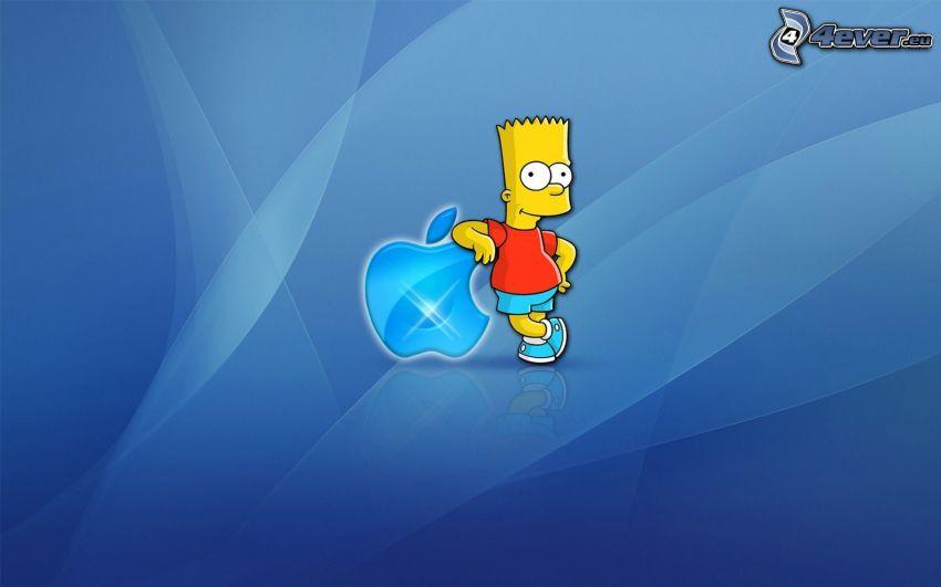 Bart Simpson, Apple