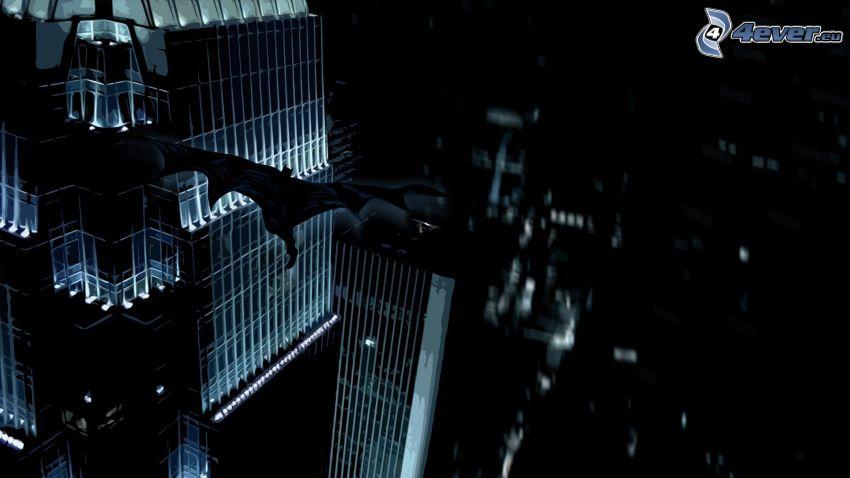 Batman, ciudad de noche