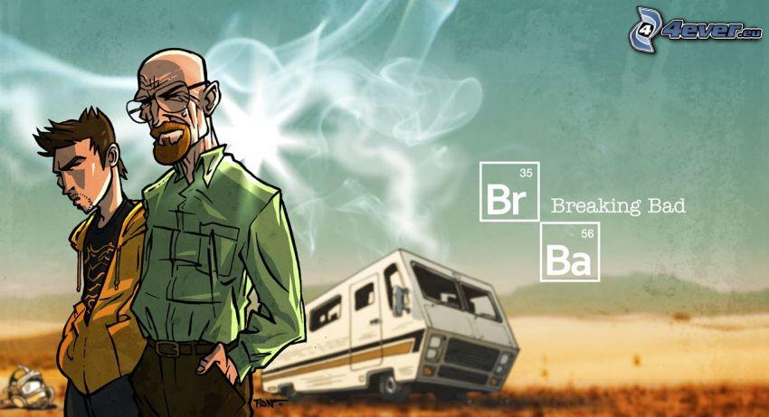 Breaking Bad, dibujos animados