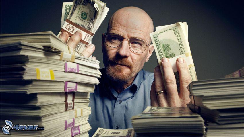 Breaking Bad, dinero, dólares