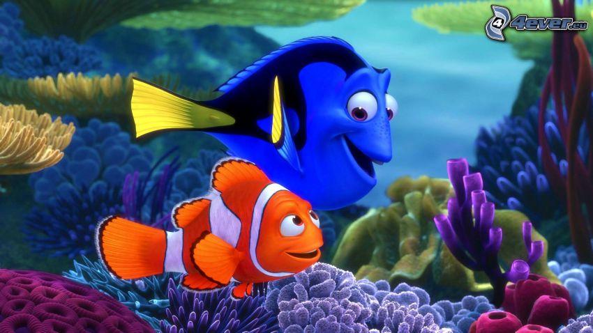 Buscando a Nemo, Marlin & Dory