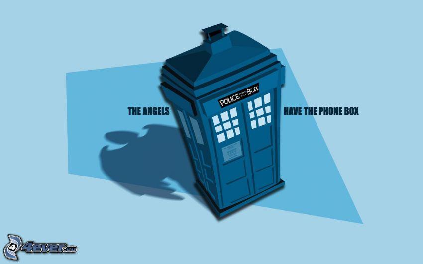 cabina telefónica, Doctor Who