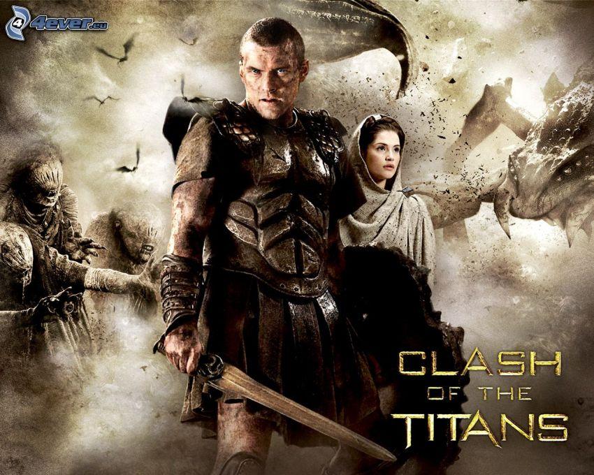Clash of the titans, guerrero