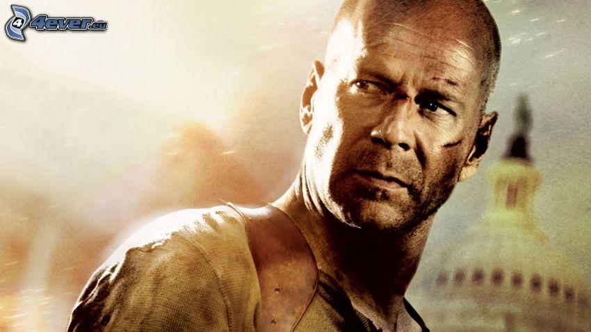 Die Hard: de nuevo en acción, Bruce Willis