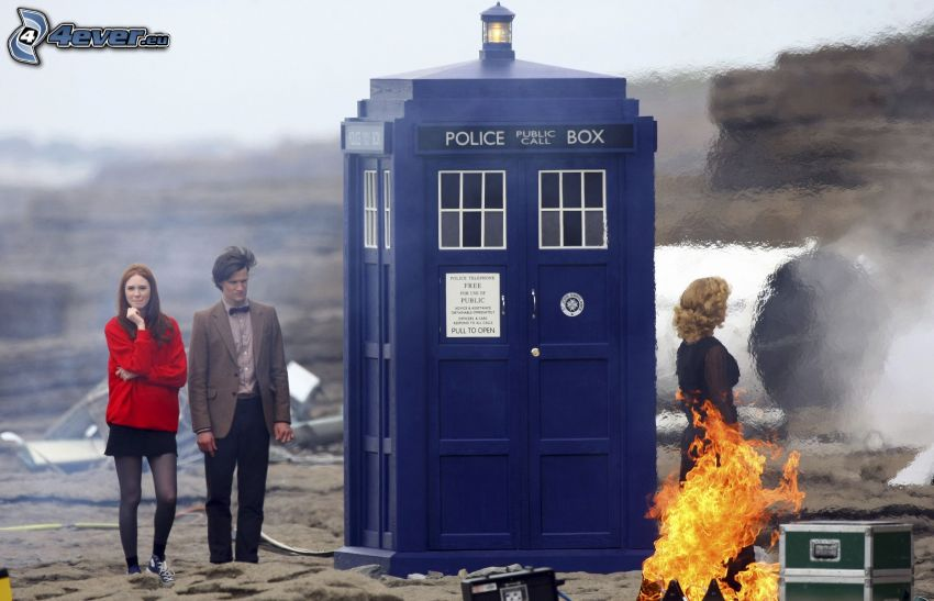 Doctor Who, cabina telefónica