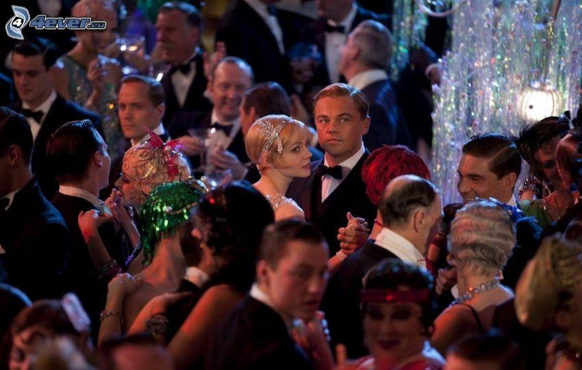 El Gran Gatsby, Daisy Buchanan, Jay Gatsby, fiesta