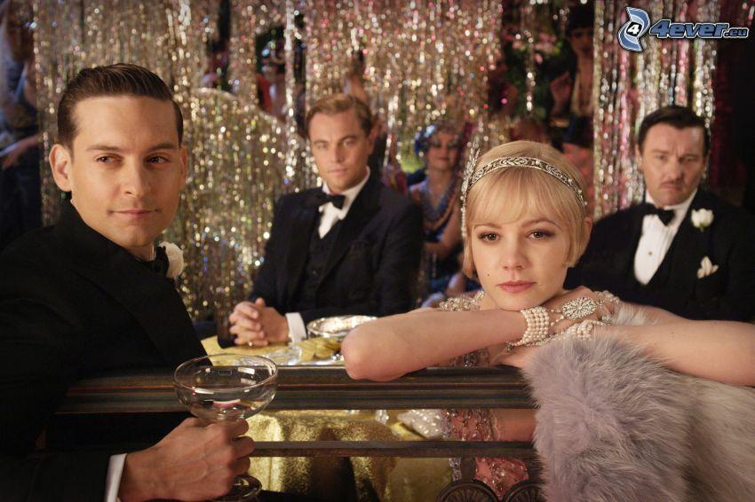 El Gran Gatsby, Nick Carraway, Daisy Buchanan