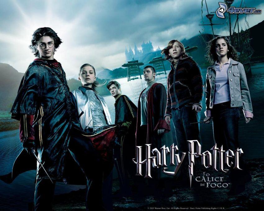 Harry Potter y el cáliz de fuego, película, cartel