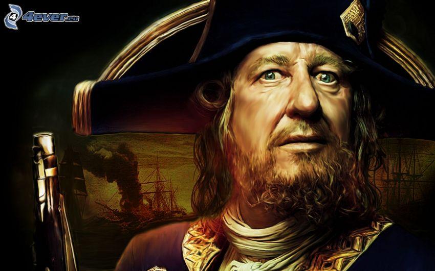 Hector Barbossa, Piratas del Caribe