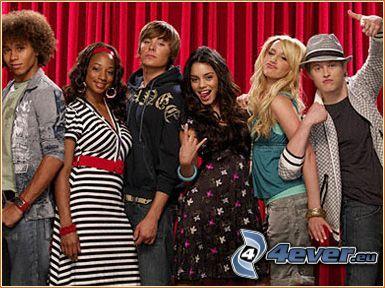 High School Musical, actores, películas
