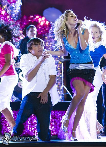 High School Musical, Zac Efron, Ashley Tisdale