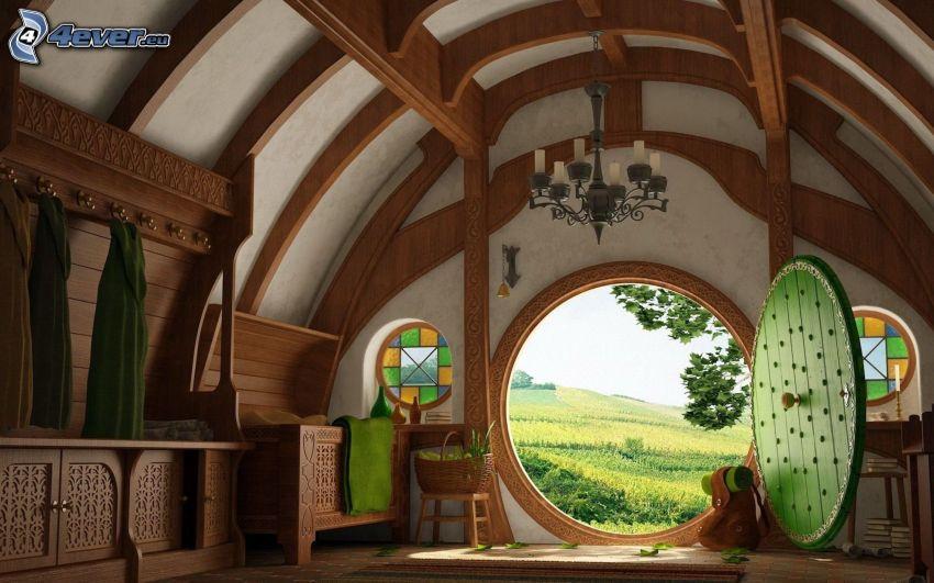Hobbit, habitación