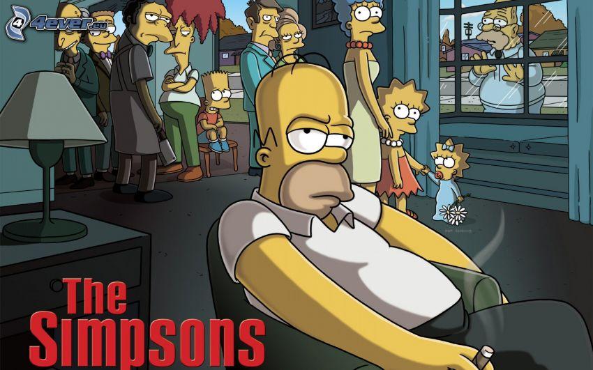 Homer Simpson, Los Simpson