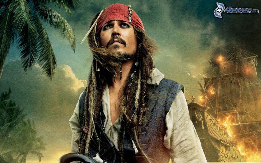 Jack Sparrow, Piratas del Caribe