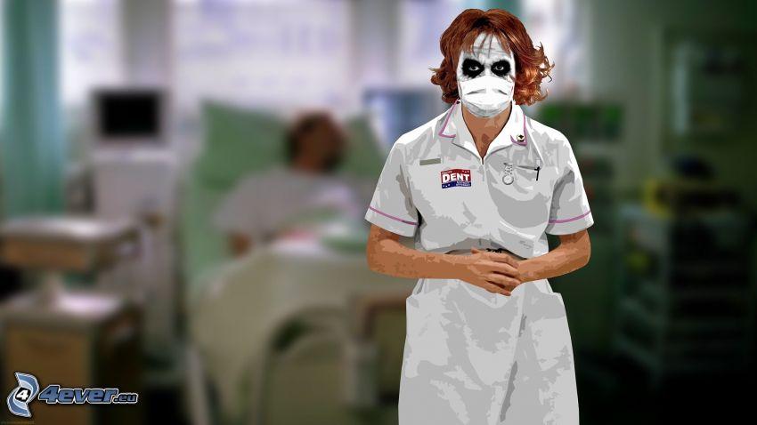 Joker, enfermera