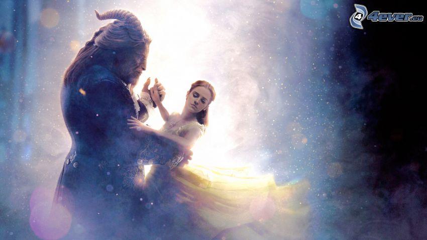La Bella y la Bestia, Emma Watson, baile