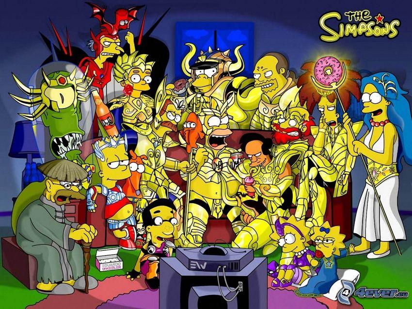 Los Simpson, caracteres