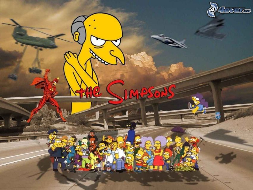 Los Simpson, Mr. Burns