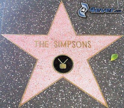 Los Simpson, paseo de Fama