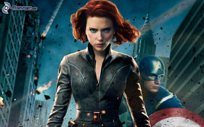 Os vingadores, Scarlett Johansson