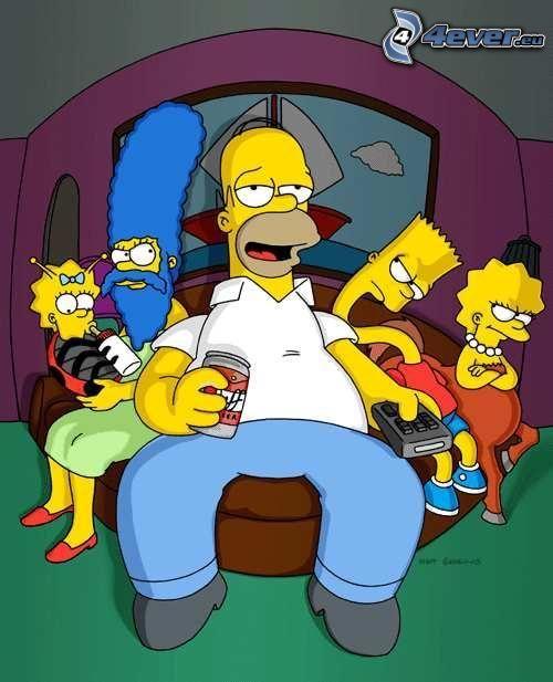 película, historia, Los Simpson