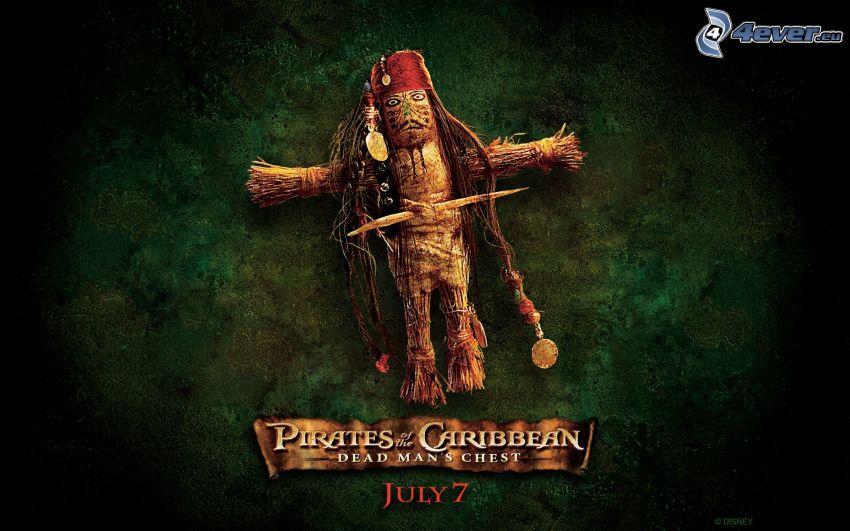 Piratas del Caribe, carácter vudú