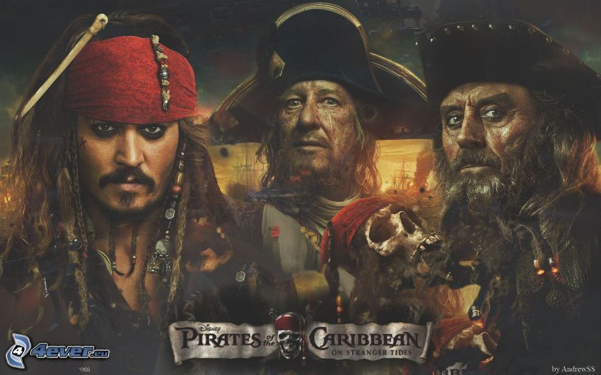 Piratas del Caribe, Jack Sparrow, Hector Barbossa