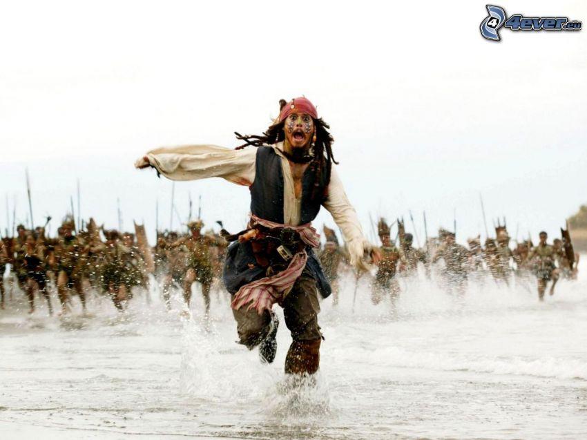 Piratas del Caribe, Jack Sparrow