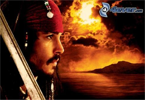 Piratas del Caribe, Johnny Depp