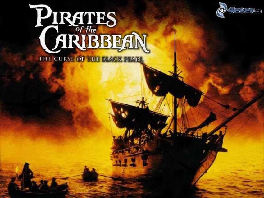 Piratas del Caribe, Pirates of the Caribbean, perla negra