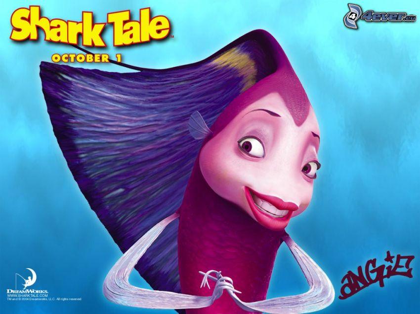 Shark Tale, El espantatiburones, historia