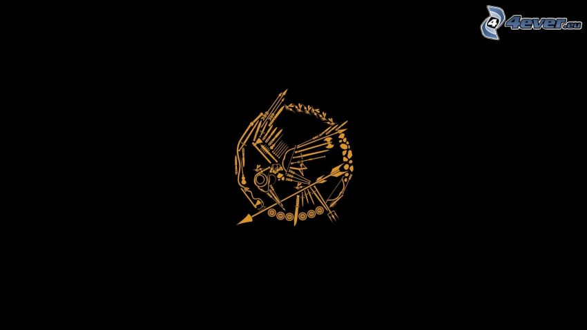 The Hunger Games, logo