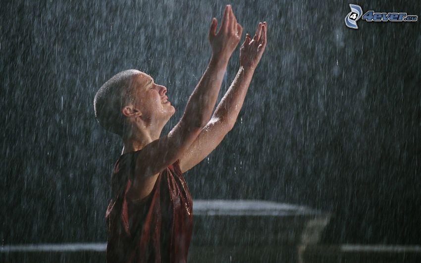 V de Vendetta, lluvia
