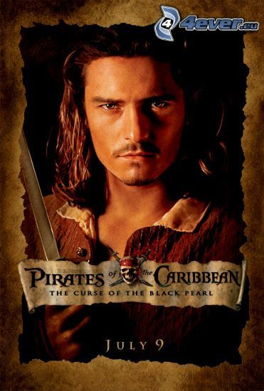 Will Turner, Piratas del Caribe