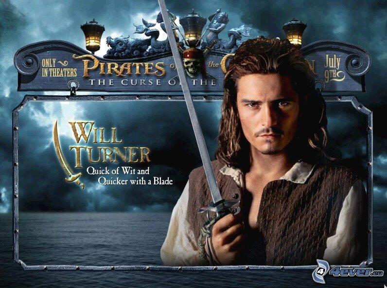 Will Turner, Piratas del Caribe