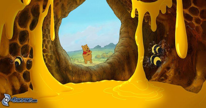 Winnie the Pooh, miel