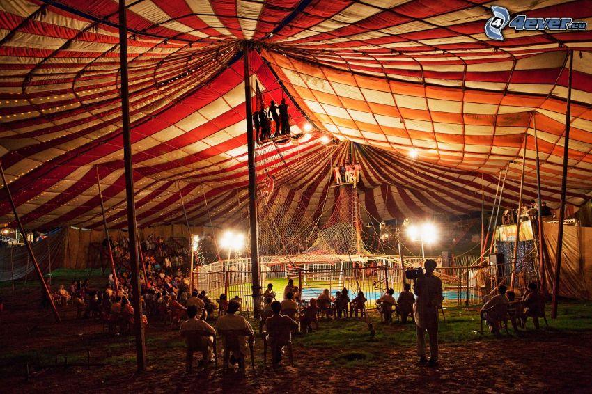 circo, personas