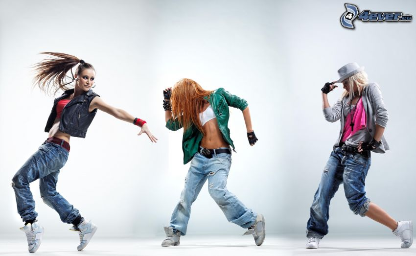 hip hop, bailarinas