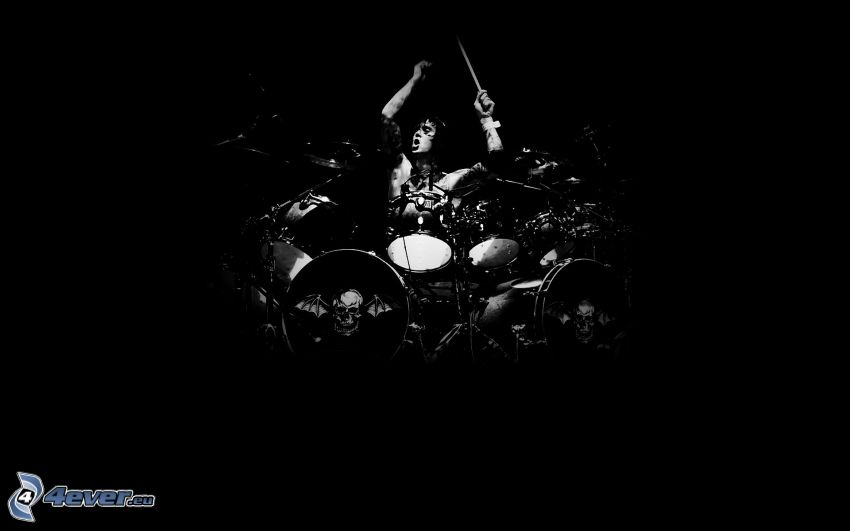 batería, tambor