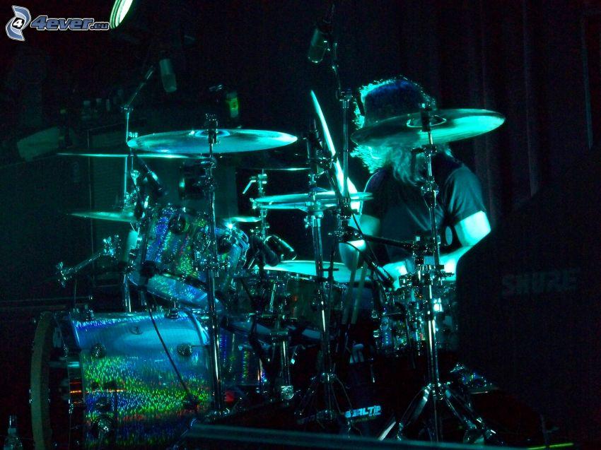 batería, tocar la batería