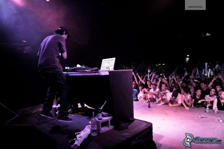 concierto, DJ