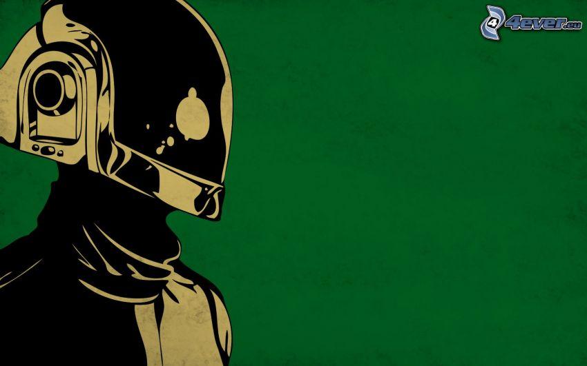 Daft Punk, dibujos animados