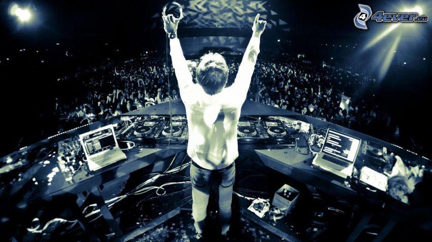 DJ, discoteca, concierto, megafiesta