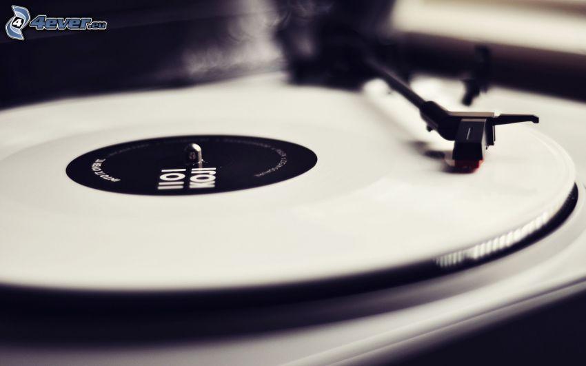 gramófono, disco de vinilo