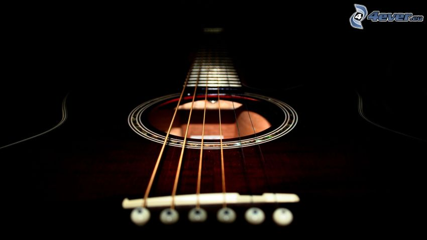 guitarra, Strings