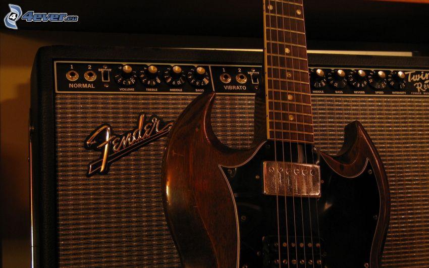 Guitarra Eléctrica, guitarra combo