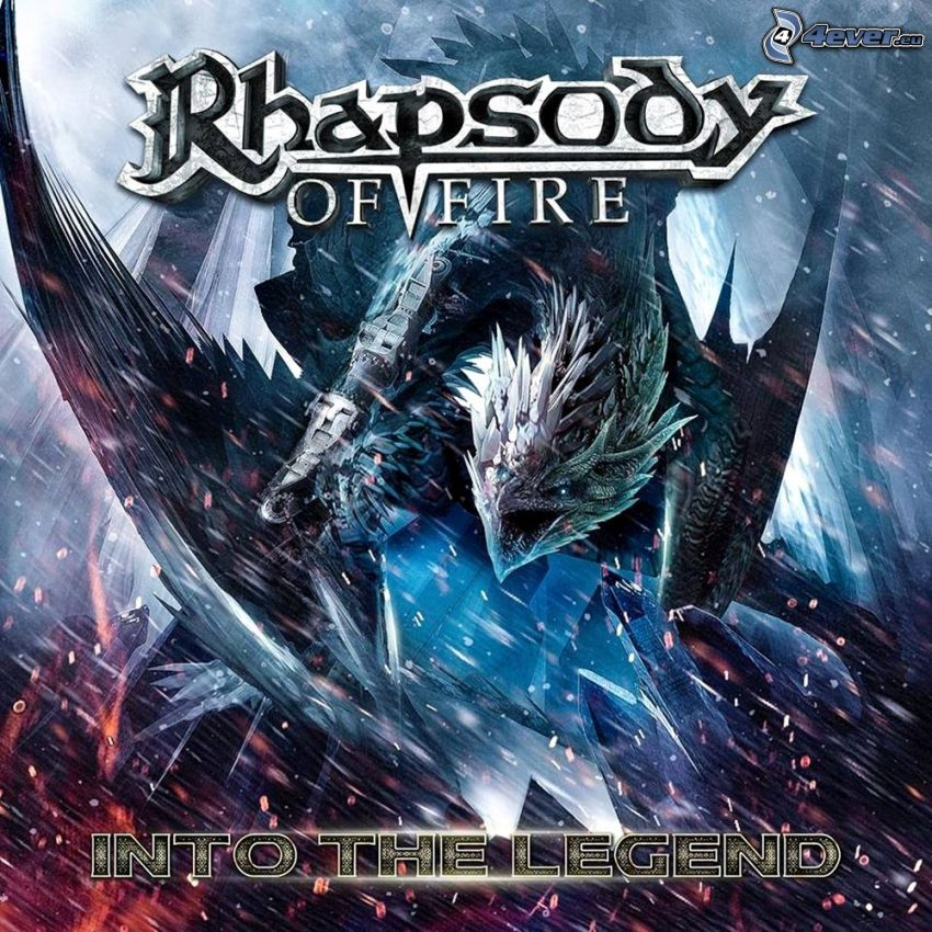 Rhapsody of Fire, Into the Legend, dragón